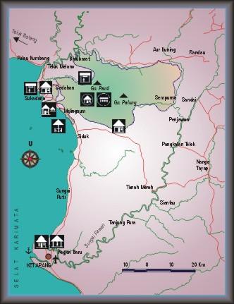 Borneo, Kalimantan barat, west Kalimantan, national park, map, nature, adventure, outdoor, Indonesia, caving, taman nasional gunung palung, trekking, orang utan, proboscis monkey, trekking, Pontianak, hornbill, kayaking, ketapang