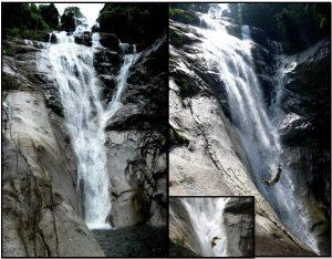 Jangkar's 1st Falls – 1 hour walk from Kpg Jantan – Jalan Biawak