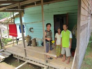 With Mr. Nanak (Sait village headman) & his wife
