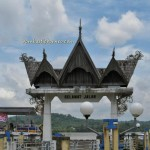 Kutai Kartanegara, Indonesia, Balikpapan, adventure, Borneo, Dayak, East Kalimantan Timur, Mahakam river, coal, Lembu Suana, Pulau Kumala, Tenggarong waterfront, Jembatan Gerbang Dayaku