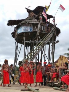 adventure, authentic village, baruk, bengkayang, cultural tourism, culture event, indigenous, Indonesia, West Kalimantan Barat, Kampung Padang Pan, native, nyobeng gawai, outdoor, Rumah Adat Baluk, skull house, Siding, tribal, tribe, wisata Budaya,