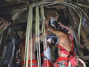Rumah Baluk, authentic dayak, Budaya bengkayang, bidayuh tribe, gawai event, indigenous, indonesia village, West Kalimantan Barat, native culture, Nibakng, harvest festival, ritual ceremony, Siding, skull bathing, skull house, spiritual healing, thanksgiving, traditional, tribal,