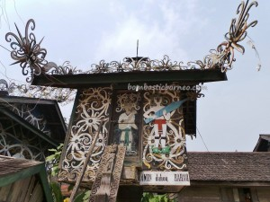 Miau Baru, wisata budaya, culture, Ethnic, Borneo, Kongbeng, east Kalimantan, Lepau Parai, Lumbung Padi, native, sculptures, Suku Dayak, Tourism, tourist attraction, traditional, travel guide, tribal, village