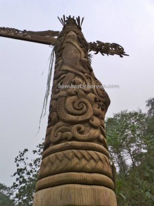 adventure, authentic, alam, culture, indigenous, native, sculptures, Suku Dayak Kenyah, Totem Pole, Tourism, tourist attraction, traditional, tribal, tribe, village, nature,