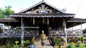 authentic, Borneo culture, motif, homestay, indigenous, Lamin Adat Adjang Lidem, longhouse, Selatan Hilir, native, Obyek wisata budaya, orang asal, Suku Dayak Kenyah, Tourism, tourist attraction, traditional, tribal, tribe, village,