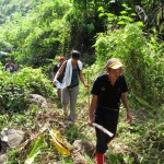 adventure, nature, air terjun, Tanju waterfall, bamboo bridge, Highlands, dayak bidayuh, homestay, rainforest, Kampung Kiding, village, Kuching, Padawan, tour guide, Tourism, tribal, tribe,