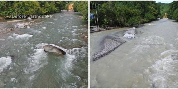 Sabah Ranau Kundasang Mount Kinabalu River Earthquake