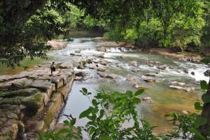 authentic village, indigenous, backpackers, Seluas, Desa Bengkawan, Dusun, Borneo, West Kalimantan, Nyobak'ng Tadan, gawai dayak, Tourism, crossborder. transborder, nature, tourist attraction, riam, air terjun,