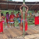 authentic, traditional, backpackers, Native, tribal, tribe, Borneo, Kuching, Malaysia, baruk, ritual, Paddy harvest festival, village, Kampung Kadek, Tourist attraction, travel guide, 沙捞越,