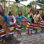 Indigenous, budaya, bidayuh tribe, native, tribal dance, event, ritual ceremony, gawai harvest festival, village, Dusun, Bengkayang, Borneo, West Kalimantan, Obyek wisata, skull house, tourism, tourist attraction,