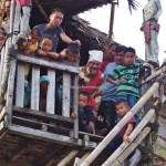rumah adat, authentic, culture, native, tribe, tribal, gawai harvest festival, village, Desa Hli Buei, Bengkayang, Borneo, Obyek wisata, skull house, traditional, transborder, travel guide, tourism,