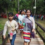 Indigenous, culture, dayak bidayuh, native, tribe, event, gawai harvest festival, kmapung, Bengkayang, Borneo, Rumah Adat Baluk, backpackers, transborder, travel guide, tuak, palm wine, tourist attraction,