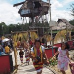 Backpackers, authentic, Indigenous, culture, budaya, dayak bidayuh, native, tribal, Nyobeng gawai, village, Kalimantan Barat, skull house, traditional, tourist attraction, travel, tourism, tribe,