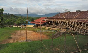 school, authentic village, indigenous, Bengkawan, Borneo, gawai dayak, Tourism, crossborder. transborder, travel guide, native, tribal, tribe, Waterfall, riam, West Kalimantan,