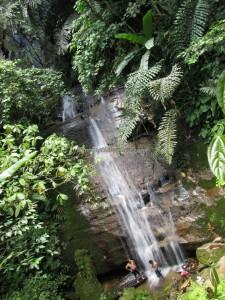 adventure, hiking, jungle, rainforest, air terjun Sinutut, authentic, tribe, Borneo Highlands, dayak bidayuh, Kampung Sadir, Village, Kuching, Malaysia, Padawan, Tourism, travel guide, 沙捞越瀑布