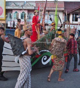 Isen Mulang, authentic, cultural dance, Borneo, Central Kalimantan, 中加里曼丹, Palangka Raya, carnival, event, Festival Budaya, Suku Dayak, tourist attraction, traditional, backpackers guide, tribal, tribe