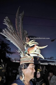 authentic, indigenous, cultural dance, Central Kalimantan, Kalteng, Indonesia. event, Festival Budaya, Ethnic, native, tourist attraction, traditional, backpackers, travel guide, tribal, tribe