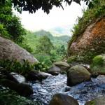 adventure, outdoor, nature, hiking, jungle, rainforest, air terjun, Ban Buan Kukuot, backpackers, Borneo Highlands, village, Kuching, tourism, travel guide, 沙捞越瀑布, Padawan,