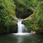trekking, hiking, jungle, rainforest, air terjun, Ban Buan Kukuot, backpackers, Borneo Heights, native, Kampung Sadir, village, Padawan, tourist attraction, travel guide, 沙捞越瀑布,