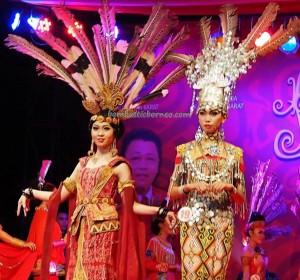 Beauty contest, authentic, Indigenous, culture, event, Dayak harvest festival, native, Borneo, Kalimantan Barat, Tourism, tourist attraction, traditional, tribal, tribe, transborder. 婆罗洲原著民丰收节日