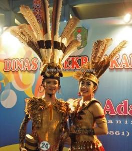 Beauty contest, Bujang Dara, authentic, Indigenous, culture, event, Dayak harvest festival, native, Borneo, West Kalimantan, Tourism, obyek wisata, traditional, travel guide, tribal, tribe,