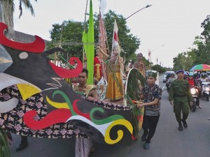 Isen Mulang, indigenous, cultural dance, Kalteng, carnival, event, Festival Budaya, street parade, Obyek wisata, native, Suku Dayak, Tourism, traditional, backpackers, travel guide, tribal, tribe