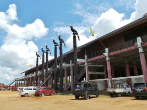 longhouse, authentic, Indigenous, Adat budaya, culture, event, Pekan Gawai, native, Borneo, Indonesia, Rumah Radakng, Tourism, tourist attraction, obyek wisata, travel guide, tribe,