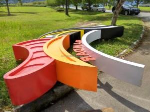 Bandar, sculpture, Borneo, dayak bidayuh, Entikong, Kuching, news, Pontianak, 沙捞越, pearl town, update, transborder, crossborder,