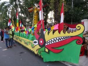 Isen Mulang, authentic, indigenous, culture, Borneo, 中加里曼丹, Kalteng, Palangka Raya, Festival, street parade, native, Suku Dayak, tourist attraction, backpackers, travel guide, tribal, tribe