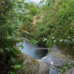 adventure, outdoor, nature, hiking, jungle, rainforest, air terjun, waterfall, backpackers, Borneo Highlands, Kampung Sadir, village, Padawan, tourist attraction, travel guide, 沙捞越瀑布