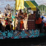 River Parade, Lomba Jukung, Isen Mulang, authentic, backpackers, Borneo, 中加里曼丹, carnival, cultural dance, native, Kahayan river, Pariwisata, Tourist attraction, travel guide, tribe, tribal