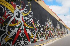 Festival Budaya, Isen Mulang, indigenous, backpackers, Borneo, 中加里曼丹, Indonesia, Palangkaraya, culture, bridge, Kahayan river, native, Pariwisata, Tourist attraction, travel guide, tribal