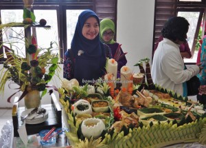 Lomba Mangenta, exotic delicacy, Food decoration, cooking competition, Festival Budaya, Isen Mulang, Kalteng, Palangkaraya, Indonesia, Ethnic, Carnival, Pariwisata, tourist attraction, traditional, tribe, pertandingan makanan,