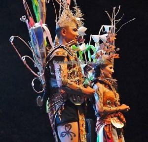 authentic, Indigenous, cultural dance, Festival Budaya, talent show, carnival, Borneo, Kalimantan Tengah, native, Suku Dayak, Pariwisata, Tourism, traditional, tribal, tribe, backpackers,