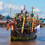 River Parade, Isen Mulang, Indigenous, backpackers, Borneo, Central Kalimantan, 中加里曼丹, carnival, culture, event, Sungai Kahayan, Obyek wisata, Tourism, traditional, travel guide, tribal,