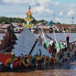 River Parade, Isen Mulang, Authentic, Borneo, 中加里曼丹, Palangkaraya, carnival, cultural dance, native, Suku Dayak, event, Kahayan River, Pariwisata, tourist attraction, tribal, tourism,