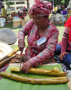 exotic delicacy, cooking competition, Festival Budaya, Isen Mulang, Authentic, Indigenous, Borneo, Kalimantan Tengah, Palangkaraya, culture, native, suku dayak, event, Pariwisata, tourism, lemang,