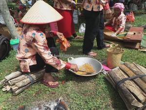 Pertandingan Memasak, exotic delicacy, cooking competition, Festival Budaya, Isen Mulang, Authentic, Indigenous, Borneo, 中加里曼丹, Palangka Raya, culture, native, suku dayak, Tourism, traditional, tribal,