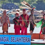 Lomba Jukung, Festival budaya, Pesta adat, indigenous, backpackers, Borneo, 中加里曼丹, Indonesia, Kalimantan Tengah, native, Suku Dayak, Kahayan river, obyek wisata, tourism, tribe, travel guide,