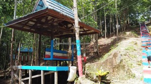 motorbike ride, adventure, outdoor, nature, Air Terjun, authentic, backpackers, Borneo, 中加里曼丹, Indonesia, Gunung Mas, Dayak Ngaju, Obyek wisata, tourist attraction, traditional, travel guide