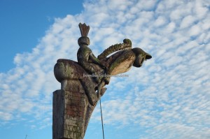 adventure, authentic, sculptures, 中加里曼丹, Tumbang Malahoi, Gunung Mas, traditional, Rumah Betang Toyoi, budaya, Dayak Ngaju, native, Obyek wisata, Sandung, Tourism, travel guide, tribe,