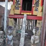 traditional, sculptures, sandung, Hindu Kaharingan, religion, indigenous, 中加里曼丹, Indonesia, Desa Tumbang Malahoi, Gunung Mas, culture, Dayak Ngaju, Obyek wisata, travel guide, tribe, village,