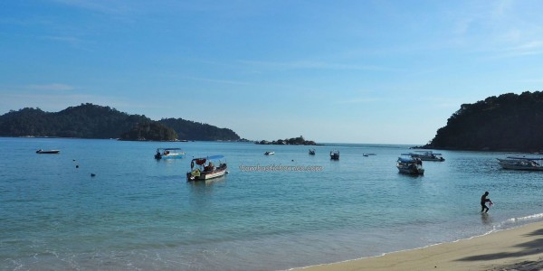 Sea View Resort, Backpackers, Laut, Island, Oriental pied hornbill, family holiday, vacation, fishing village, Tourism, travel guide, 旅游景点, 邦咯岛, 霹靂州, 马来西亚