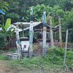 traditional, sculptures, tomb, Hindu Kaharingan, religion, authentic, indigenous, Borneo, 中加里曼丹, Tumbang Malahoi, Rungan, budaya, Dayak Ngaju, native, Obyek wisata, village,