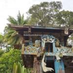 sculptures, tomb, ancestral bone house, authentic, indigenous, Borneo, Indonesia, Desa Tumbang Malahoi, Gunung Mas, Rumah Betang Toyoi, budaya, Dayak Ngaju, Tourism, tourist attraction, tribal, tribe,