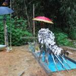 tomb, ancestral bone house, authentic, indigenous, Borneo, Indonesia, Desa Tumbang Malahoi, Rungan, Rumah Betang Toyoi, culture, native, Tourism, obyek wisata. tribal, tribe, village