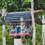 sculptures, sandung, Hindu Kaharingan, religion, authentic, Borneo, Central Kalimantan, Desa Tumbang Malahoi, Gunung Mas, culture, budaya, native, Tourism, tourist attraction, travel guide, tribe,