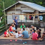 rural mini library, indigenous, Bengoh dam, Borneo, village, Kuching, volunteer, charity, Community Service, education, Malaysia, tribal, tribe, Non Profit Organization, 沙捞越,