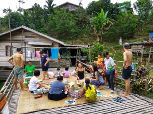 Rural, Mini library, authentic, Indigenous, native, Dayak Bidayuh, tribe, Kampung Ayun, Bengoh dam, Borneo, Padawan, Malaysia, 沙捞越, volunteer, charity,