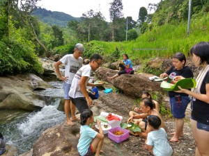 family holiday, picnic spot, adventure, nature, outdoor, authentic, Sungai Sapit, Borneo Heights, Kampung Parang, Kuching, Padawan, charity, volunteer,, native, Non Government Organization,